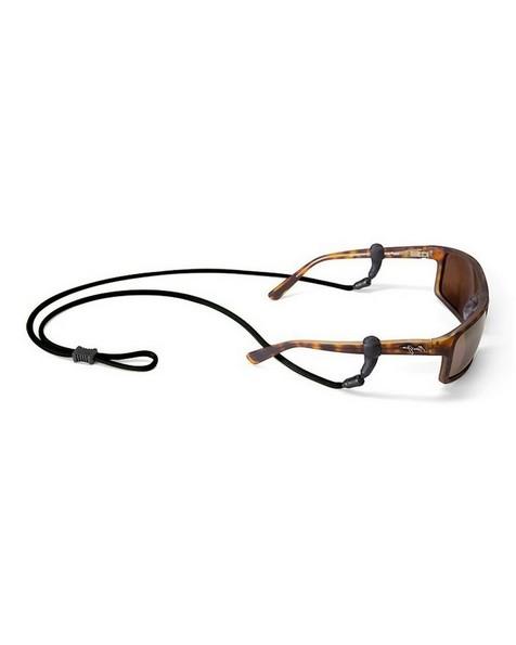 Croakies Terra System Long  XL TITE Glasses Cord -  black
