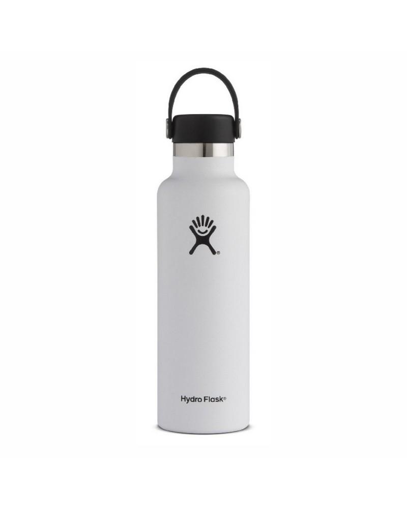 Hydro Flask 621ml Standard Mouth Flask -  white
