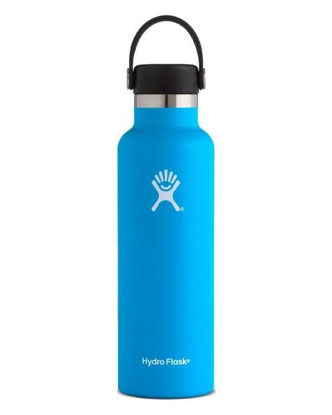 Hydro Flask 621ml Standard Mouth Flask -  lightblue