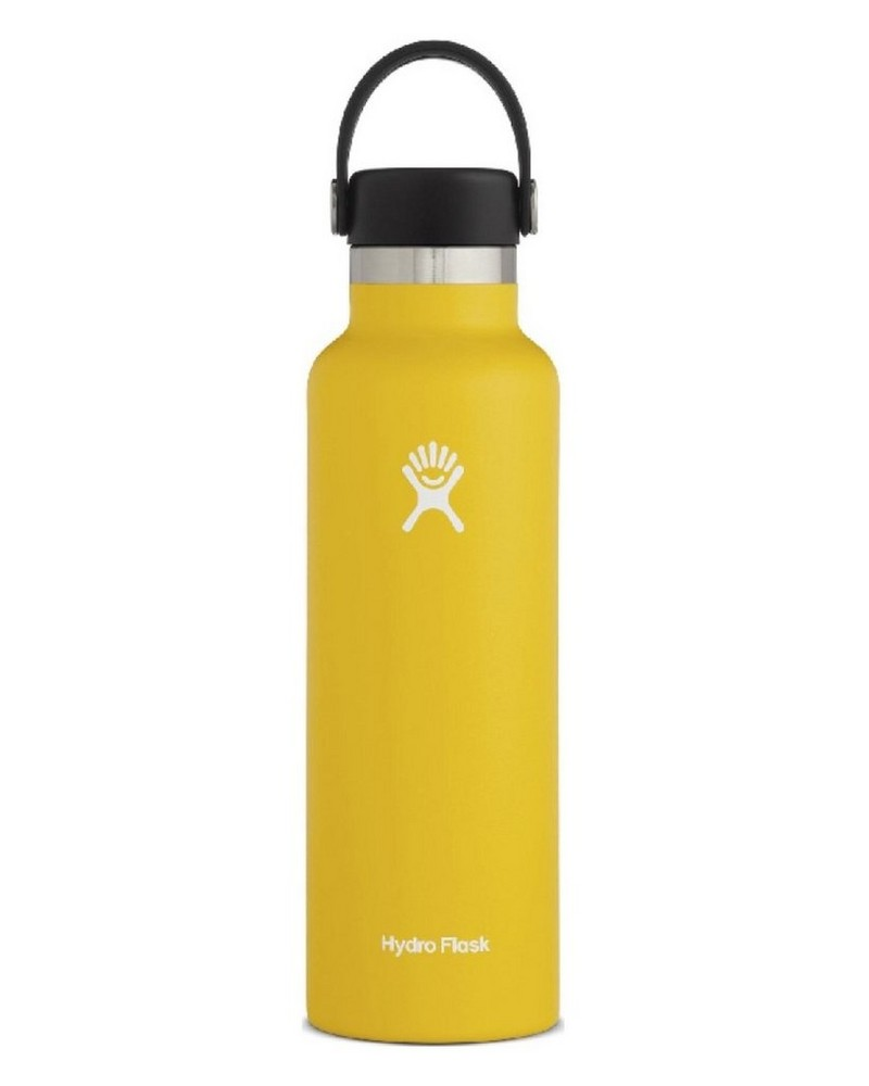 Hydro Flask 621ml Standard Mouth Flask -  yellow