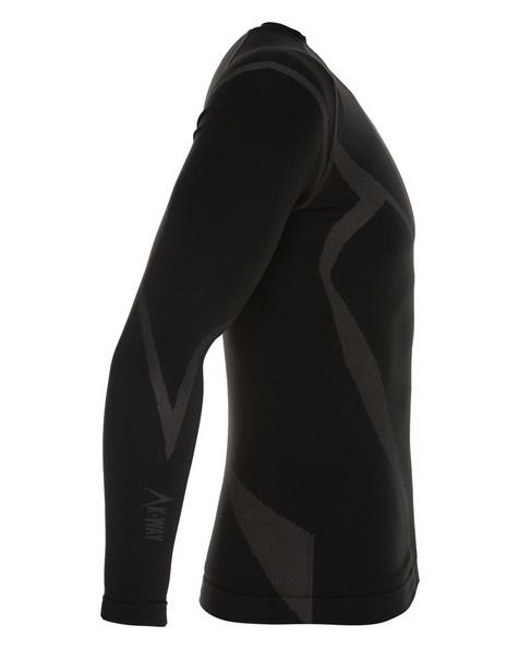 K-Way Bamboo Thermaskin l-s Vest Mens -  black