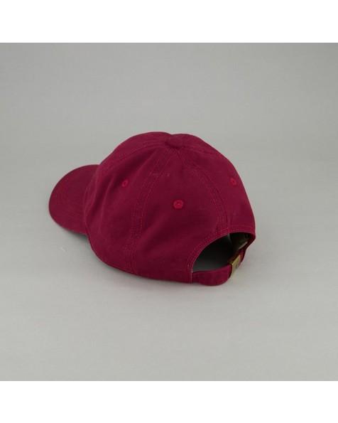 Men's Maxwell Top Stitch Detail Peak -  burgundy
