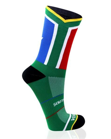 VERSUS SA Flag sock -  green-red