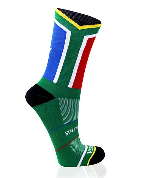 VERSUS SA Flag sock -  green