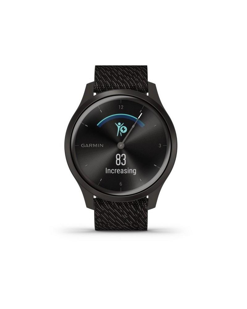 Garmin Vivomove Style Watch -  black-silver