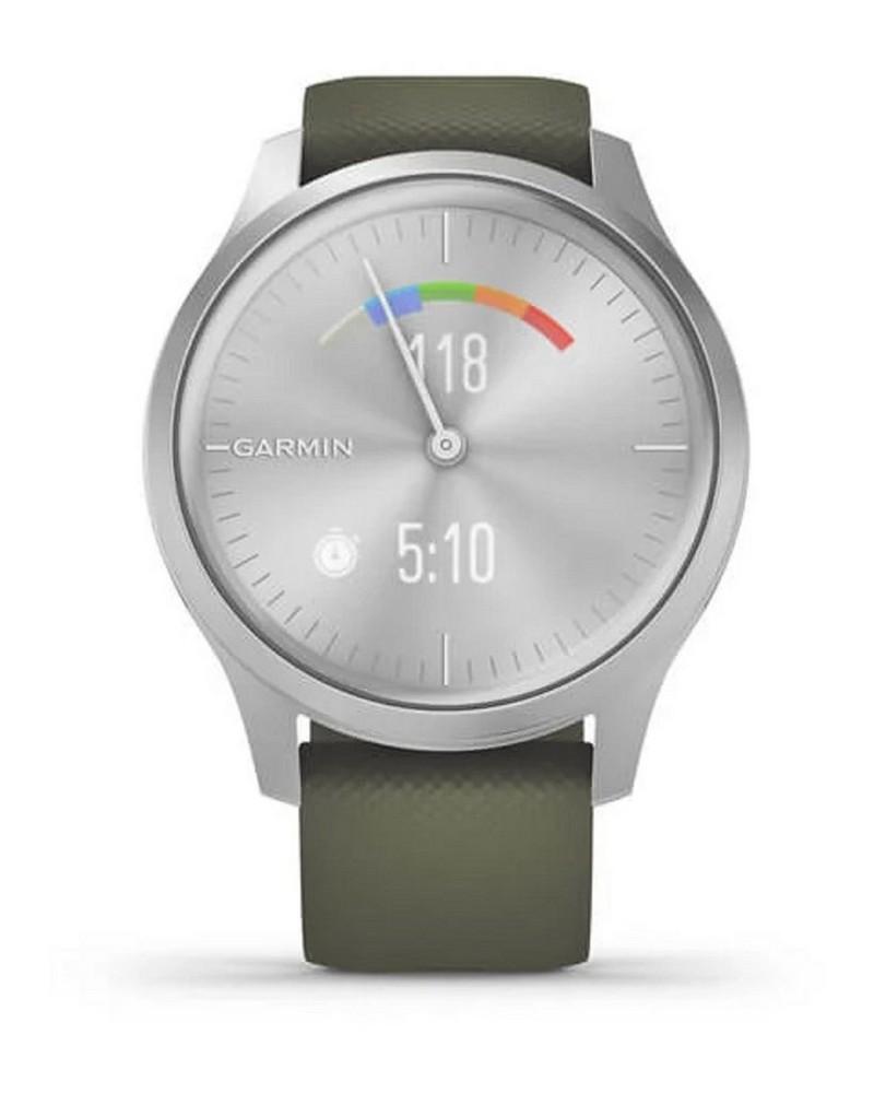 Garmin Vivomove Style Watch -  olive-silver