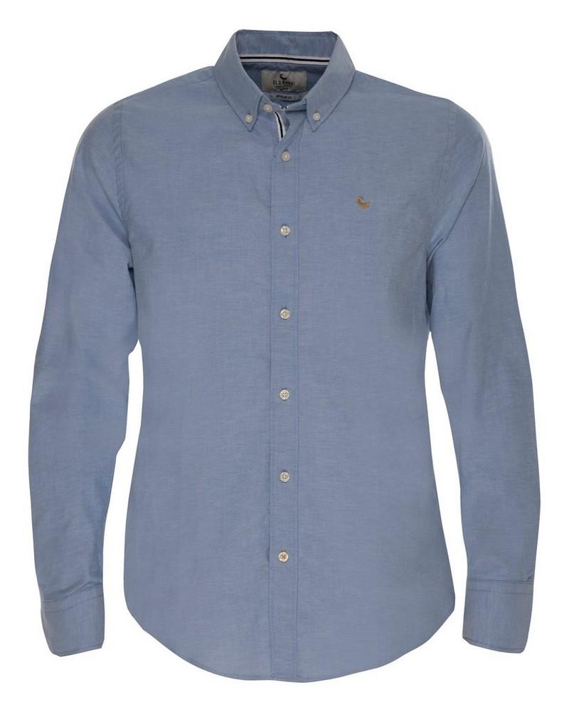 Old Khaki Men's Hunter Regular Fit Shirt  -  blue