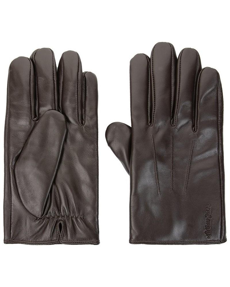 Arthur Jack Men's Richard Leather Glove -  brown
