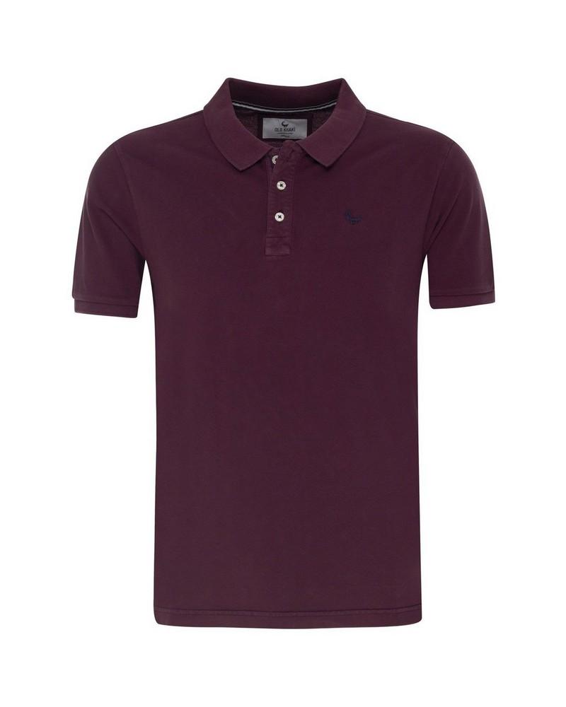 Howard 2 Men's Relaxed Fit Golfer -  burgundy