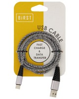 Birst Woven Type-C Cable -  grey