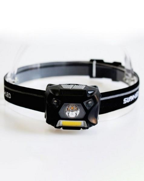 SupaLED Scorpio Rechargeable Headlight -  black