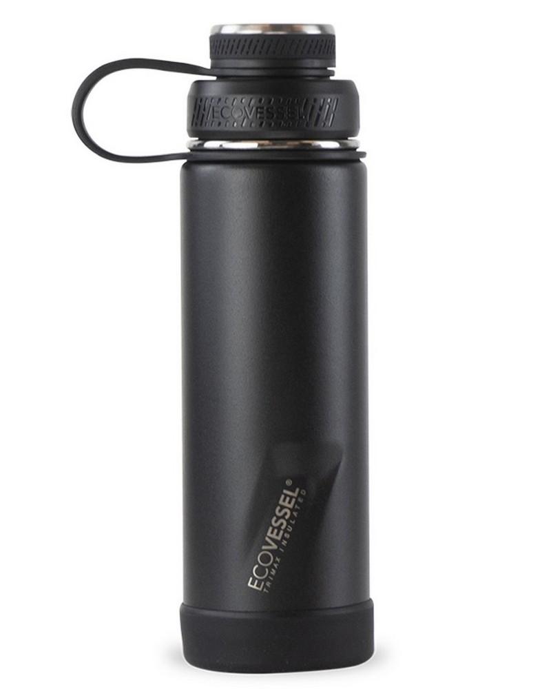 Ecovessel Boulder 20oz 591ml Bottle -  black