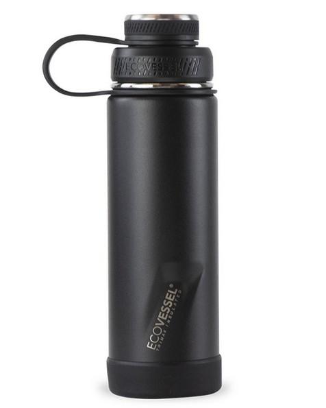 EcoVessel Boulder 591ml Bottle -  black