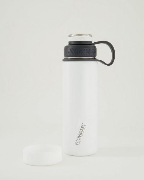 EcoVessel Boulder 591ml Bottle -  white