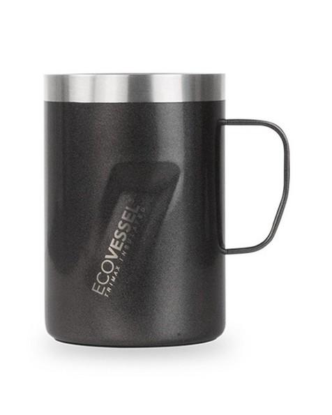 Ecovessel Transit 12oz 355ml Mug -  black