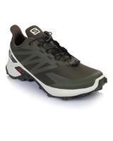Salomon Supercross Blast Shoe Mens -  olive-white