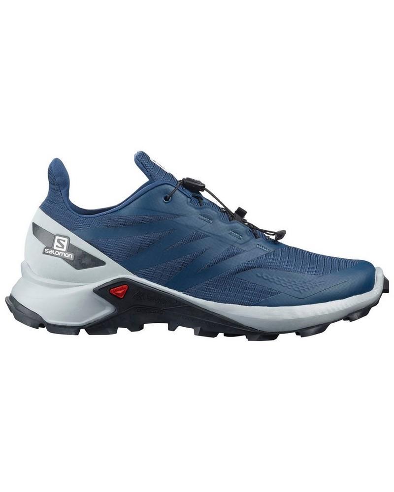 Salomon Supercross Blast Shoe Mens -  blue