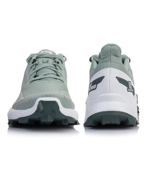 Salomon Women's Alphacross Blast Shoes -  palegreen-white