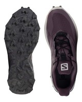 Salomon Women's Supercross Blast Shoes -  mauve-cream