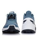 Salomon Women's Supercross Blast Shoes -  blue-white
