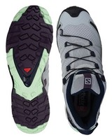 Salomon Women's XA Pro 3D V8 Shoe  -  lightgrey-grape