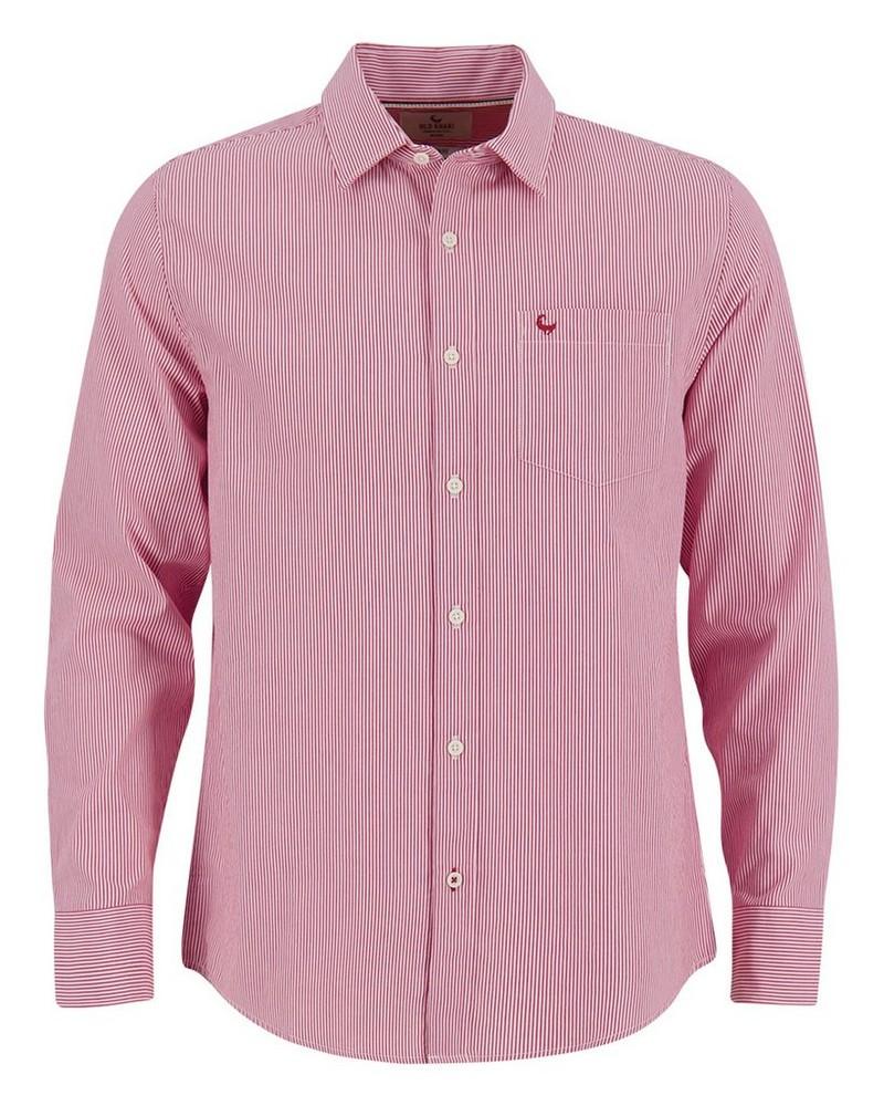 Old Khaki Men's Darryl Regular Fit Shirt  -  red