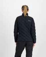 K-Way Women's Manaslu Down Jacket -  black-darkcharcoal