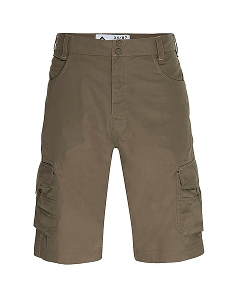 K-Way Men's Explorer Bustle Cargo Shorts -  khaki