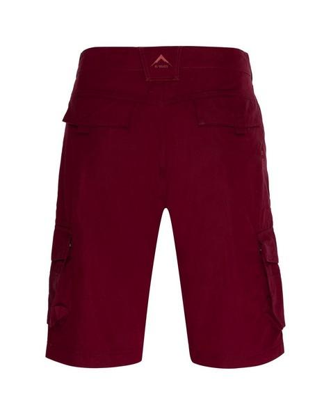 K-Way Men's Explorer Bustle Cargo Shorts -  oxblood