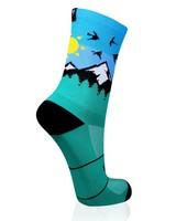 VERSUS Explore More Sock -  turquoise-cloudblue