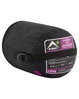 K-Way Otter 850 Eco Sleeping Bag -  purple-purple