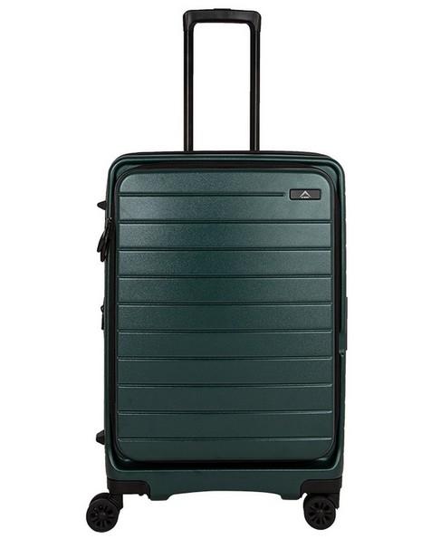 K-Way Odyssey 70 with 7-Litre Luggage Bag -  darkgreen-darkgreen