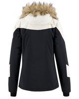 K-Way Women's Mia Ski Jacket -  black-white