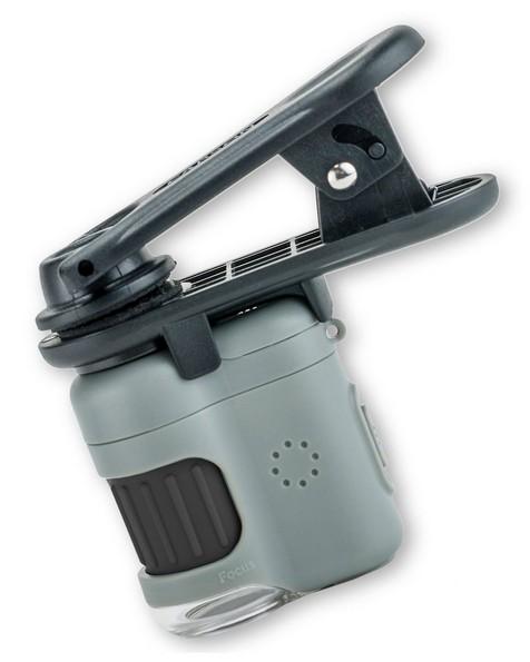 Carson 20x Microscope with Smartphone Clip -  grey