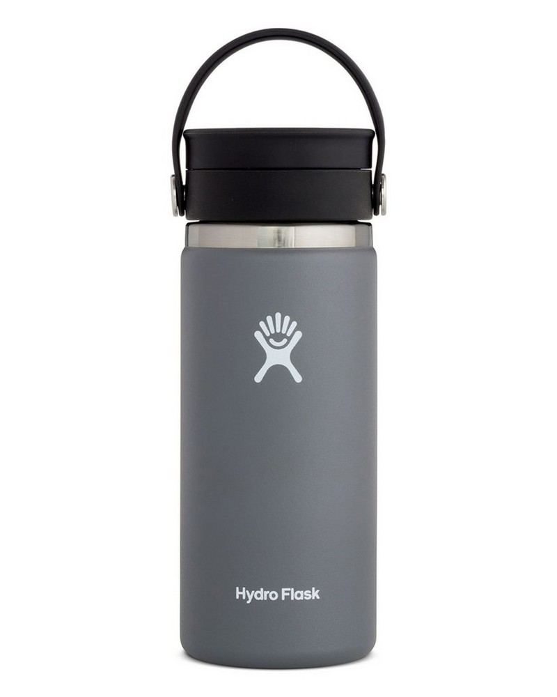 Hydro Flask 473ml Wide Mouth Coffee Mug with Flex Sip™ Lid -  graphite