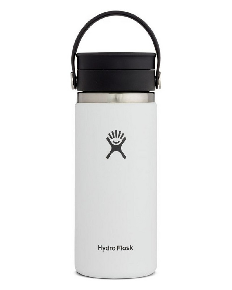 Hydro Flask 473ml Wide Mouth Coffee Mug with Flex Sip™ Lid -  white