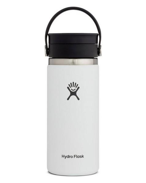 Hydroflask 473ml Wide Mouth Flex Sip Lid Coffee Mug 16oz -  white