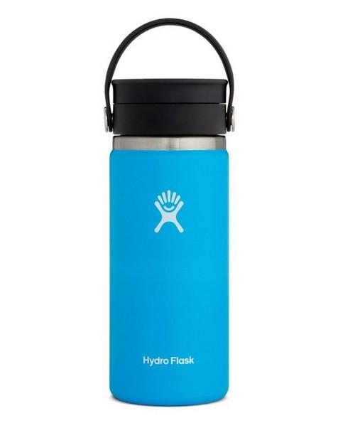 Hydroflask 473ml Wide Mouth Flex Sip Lid Coffee Mug 16oz -  lightblue