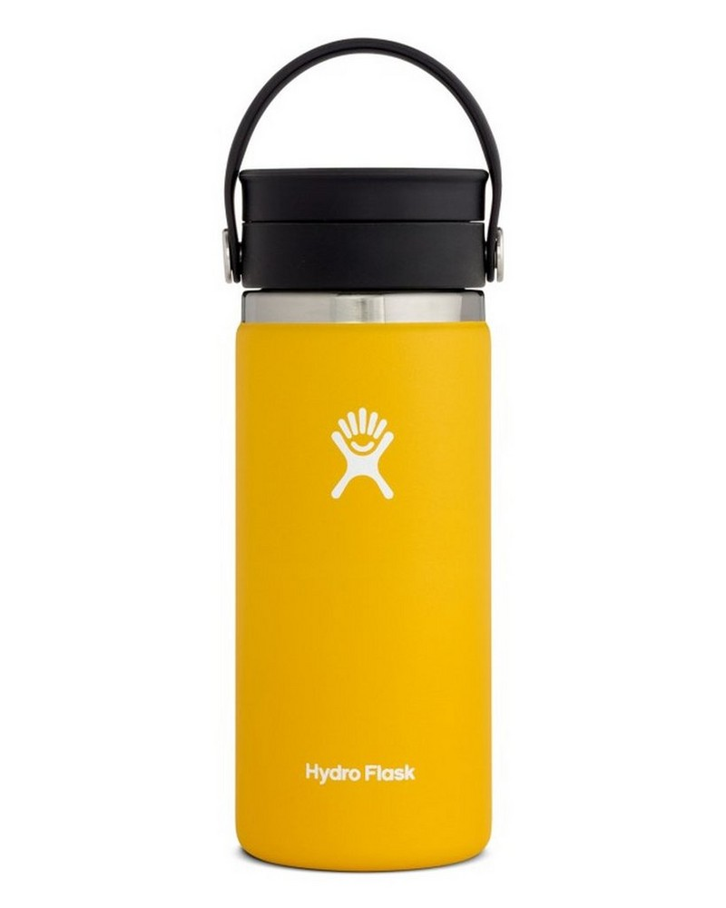 Hydro Flask 473ml Wide Mouth Coffee Mug with Flex Sip™ Lid -  yellow
