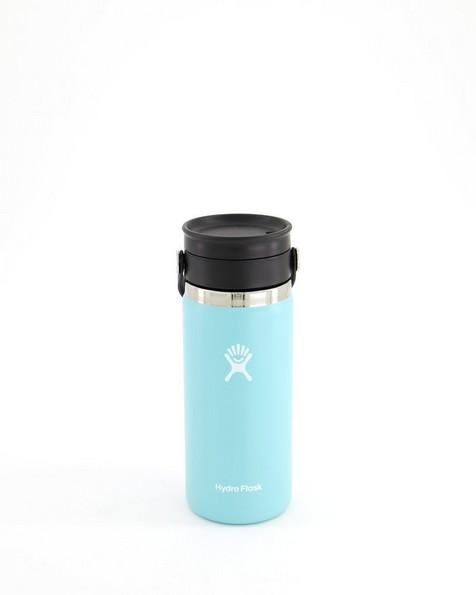 Hydroflask 473ml Wide Mouth Flex Sip Lid Coffee Mug 16oz -  iceblue