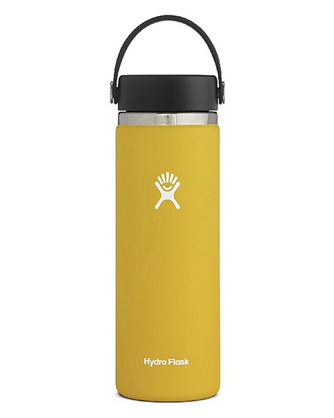 Hydroflask 591ml Wide Mouth -  yellow
