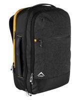 K-Way Executive Laptop Bag -  charcoal-mustard