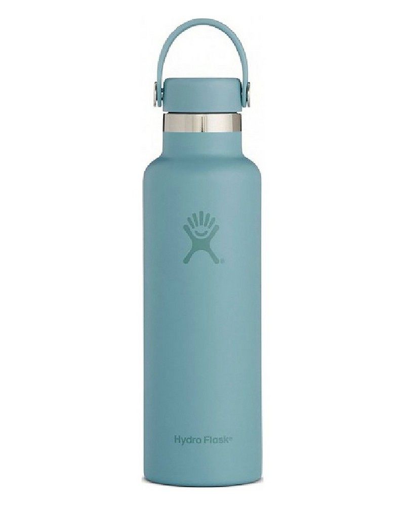 Hydro Flask 621ml Skyline Standard Mouth Flask with Stainless Steel Cap -  cloudblue
