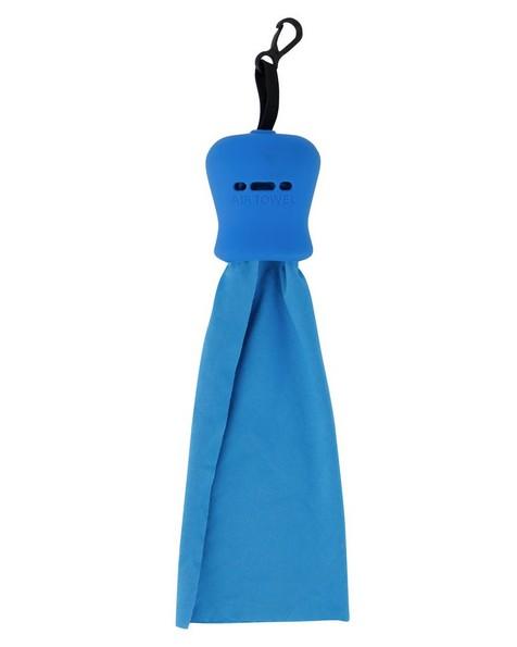 K-Way Pop Out Air Towel -  blue-blue
