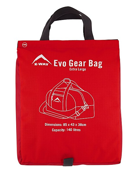 K-Way ECO EVO Gearbag -  darkred-red