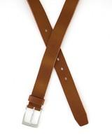 Arthur Jack Men's Edison Leather Belt -  tan
