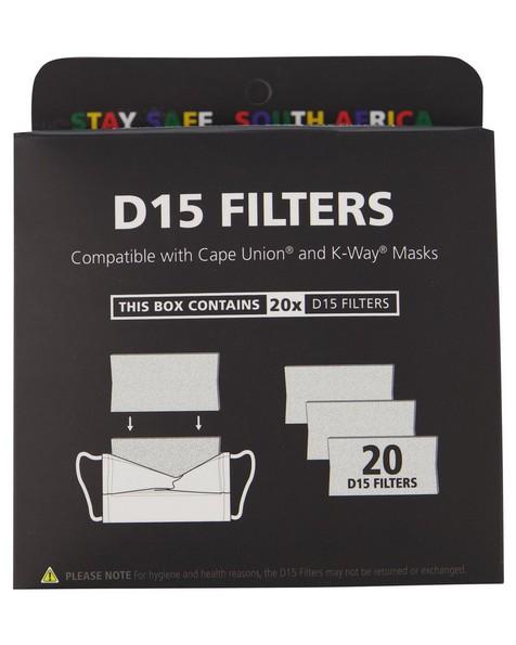 D15 Filter 20-Pack -  mint