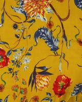 Rare Earth Women's Corinne Floral Scarf -  yellow-assorted