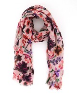 Old Khaki Women's Alanna Floral Printed Scarf -  pink-assorted