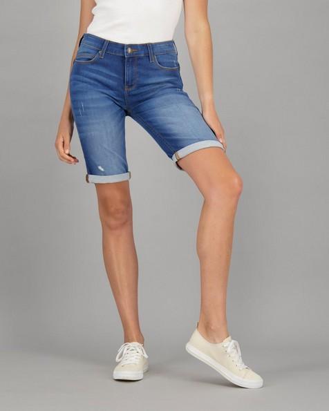 Old Khaki Women's Izzy-Lee Denim Shorts -  navy